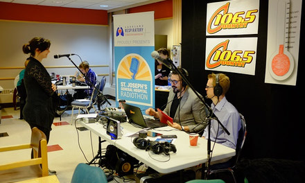 St Joseph's Hospital Radiothon Raises Funds for Simulation Centre